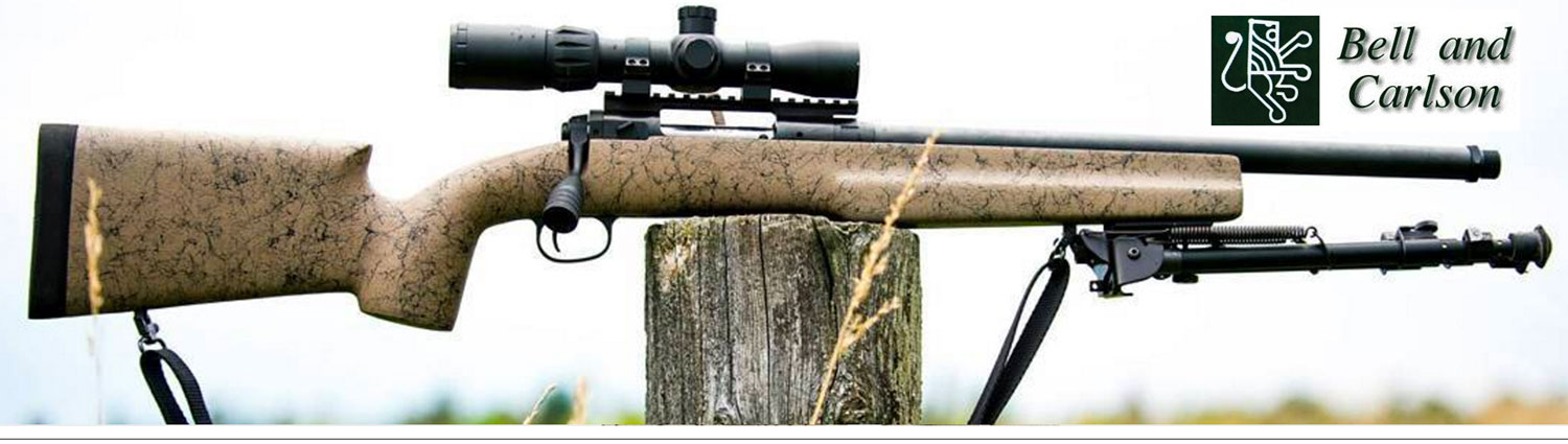 Bell and Carlson :: Synthetic Rifle Stocks For Your Remington, Tikka