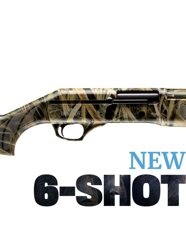 Dickinson T-1000 6-Shot Straight Pull Shotgun - Camo