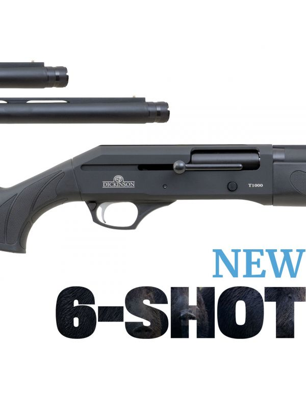Dickinson T-1000 6-Shot Straight Pull Shotgun - Synthetic Combo