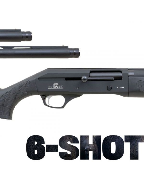 Dickinson T-1000 6-Shot Straight Pull Shotgun - Synthetic Combo
