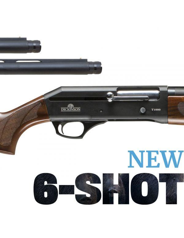 "Dickinson T1000 6-Shot Timber Straight Pull Shotgun 20"" & 28"" Barrel Combo"