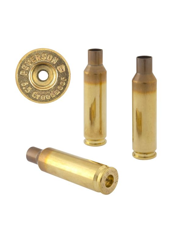 Peterson 6.5 Creedmoor Unprimed Brass Rifle Casings
