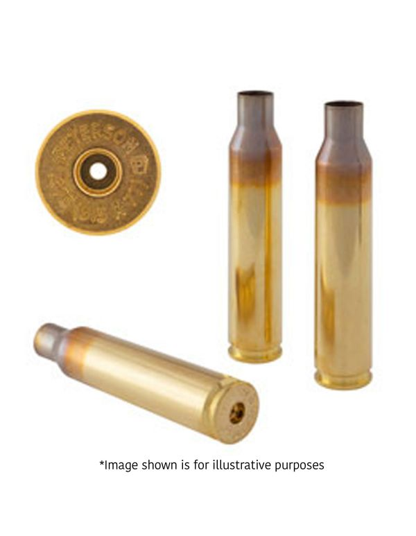 Peterson .26 Nosler Unprimed Brass Rifle Casings