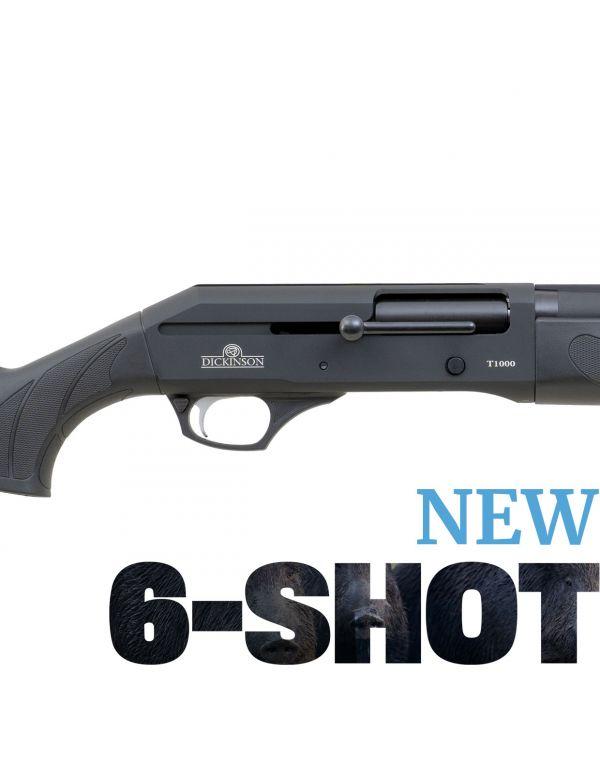 Dickinson T-1000 6-Shot Straight Pull Shotgun - Synthetic