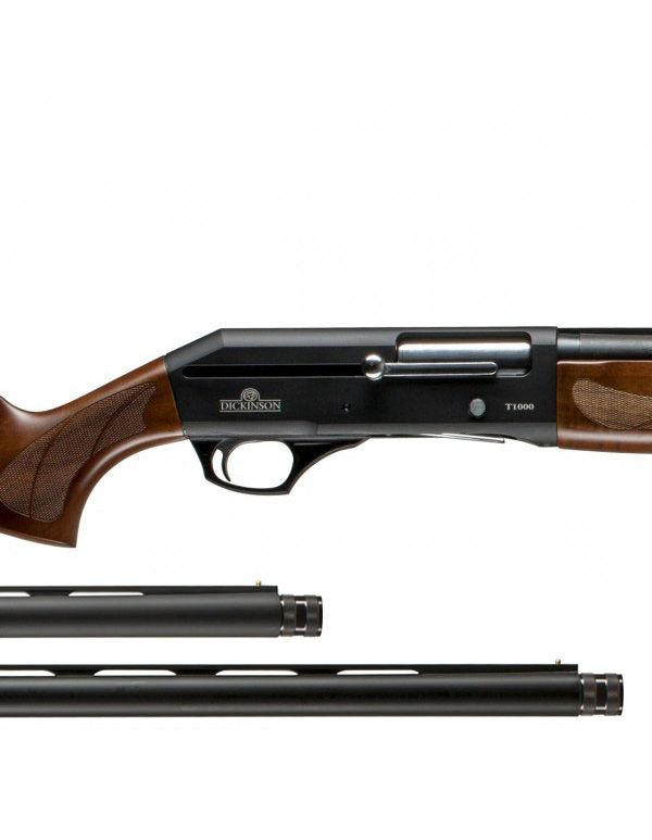 "Dickinson T-1000 Straight Pull Shotgun - Timber 20""/28"" Combo"