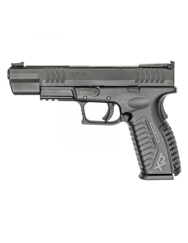 XD(M) 5.25 Competition 9mm - Black Frame, Black Slide